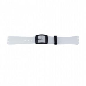 Other brand cinturino dell'orologio P51.14 Plastica Transparente 17mm
