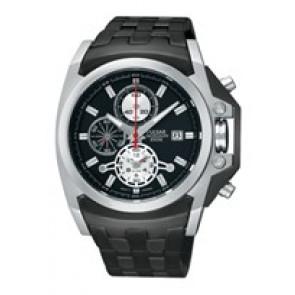 Cinturino per orologio Pulsar YM62-X204-PF3843X1 Acciaio Nero