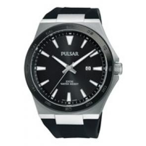 Cinturino per orologio Pulsar PH9081X1 / PC32 X087 / PHG048X Gomma Nero
