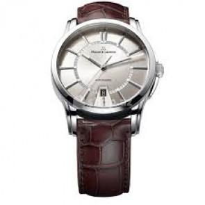 Cinturino per orologio Maurice Lacroix PT6148-SS001-130 / ML550-005 Pelle di coccodrillo Marrone 20mm