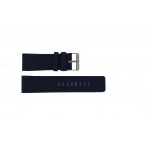 Cinturino per orologio Universale SBR11A.26.5 Silicone Blu 26mm