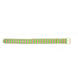 Timex cinturino dell'orologio PW2P91800 Tela Multicolore 18mm