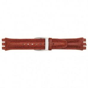 Cinturino per orologio Universale 247.07M Pelle Rosso 19mm