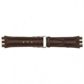 Cinturino per orologio Swatch 247.06PL Pelle Rosso 19mm