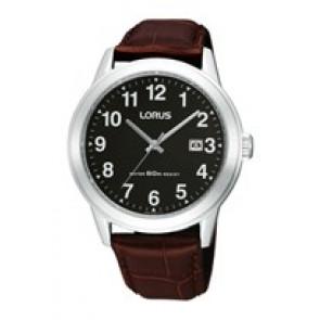 Cinturino per orologio Lorus PC32-X019-RH927BX9 Pelle Marrone 20mm