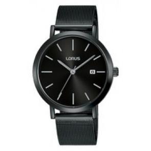 Cinturino per orologio Lorus PC32-X144-RH943JX9 Acciaio Nero