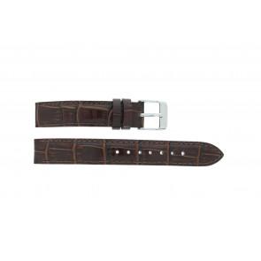 Lorus cinturino dell'orologio V501 X292 / RRS73UX-9 / V501- X29201A Pelle Marrone 14mm + cuciture di default