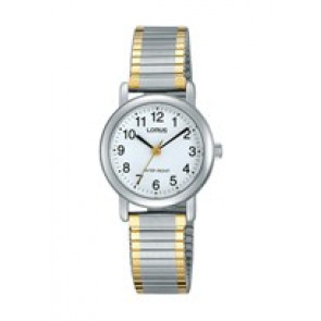 Cinturino per orologio Lorus V501-X471-RRS79VX9 Acciaio Bi-colore