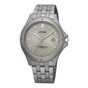 Cinturino per orologio Lorus VX32-X384-RXD75EX9 Titanio Titanio 18mm