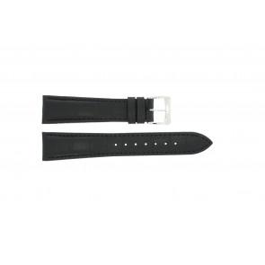 Cinturino per orologio Raymond Weil SI1501-BSB-C-2 Pelle di coccodrillo Nero 15mm
