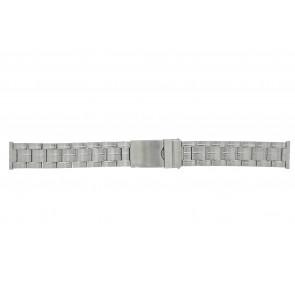 Morellato cinturino dell'orologio ST0320 Metallo Argento 20mm