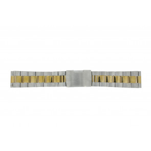 Other brand cinturino dell'orologio 1014-18-BI Metallo Bi-colore 18mm