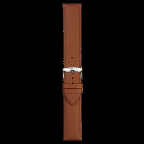 Tissot cinturino dell'orologio T109.610.16.037.00 Pelle Cognac 21mm + cuciture di default