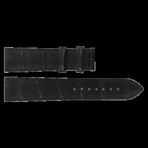 Cinturino per orologio Tissot T0636101605800 / T610031945 Pelle Nero 20mm