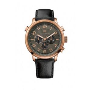 Cinturino per orologio Tommy Hilfiger TH.145.1.34.1051 Pelle Nero