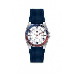 Cinturino per orologio Tommy Hilfiger TH1790885 Gomma Blu 21mm