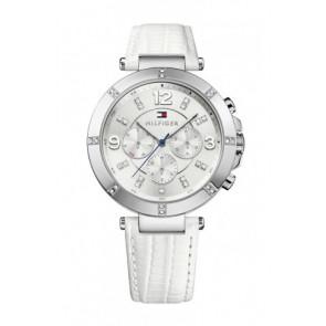 Cinturino per orologio Tommy Hilfiger TH-246-3-14-1852S Pelle Bianco