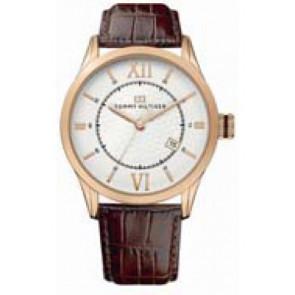Cinturino per orologio Tommy Hilfiger TH-85-1-34-0816 - TH679301079 Pelle Marrone 21mm