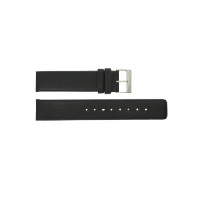 Cinturino per orologio Obaku V112 Pelle Nero 20mm