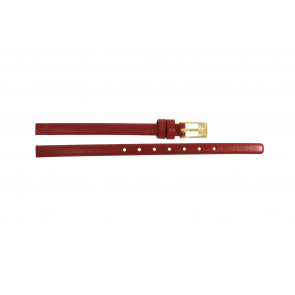 Cinturino per orologio Obaku V129-R Pelle Rosso 6mm