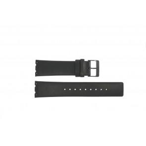Cinturino per orologio Obaku V137 Pelle Nero 23mm