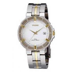 Pulsar cinturino dell'orologio V732-0330  Acciaio inossidabile Bi-colore 8mm