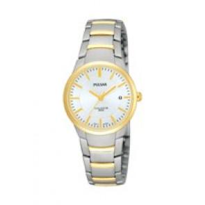 Cinturino per orologio Pulsar PH7128X1-VJ22 X062 Acciaio Bi-colore