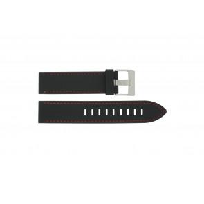 Cinturino per orologio Universale XH19 Silicone Nero 22mm