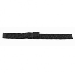 Cinturino per orologio Universale YH13 Milanese Nero 22mm