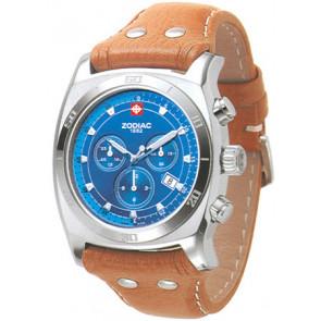 Cinturino per orologio Zodiac ZO7012 Pelle Cognac