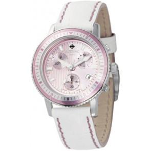 Cinturino per orologio Zodiac ZO2810 Pelle Bianco