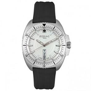 Zodiac cinturino dell'orologio ZO5500 Gomma Nero