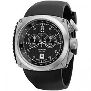 Cinturino per orologio Zodiac ZO5800 Silicone Nero
