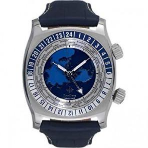 Cinturino per orologio Zodiac ZO7000 Pelle Blu 26mm