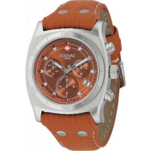 Cinturino per orologio Zodiac ZO7010 Pelle Marrone chiaro
