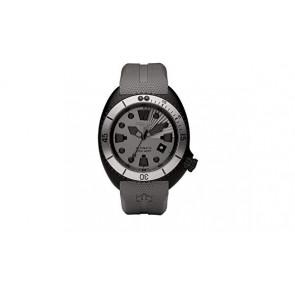 Cinturino per orologio Zodiac ZO8009 Gomma Grigio