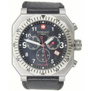 Cinturino per orologio Zodiac ZO8800 Pelle Nero 22mm
