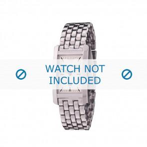 Armani cinturino orologio AR-0100 Acciaio Argento 19mm
