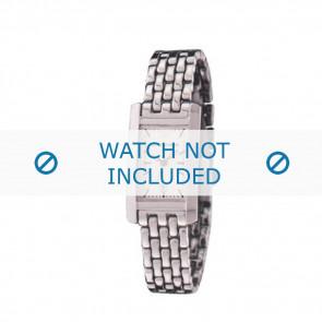 Armani cinturino orologio AR-0102 Acciaio Argento 14mm