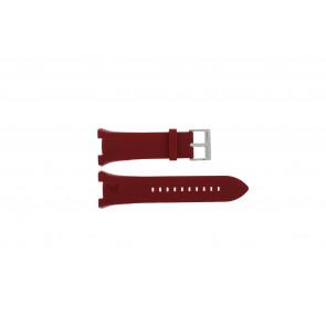 Cinturino per orologio Armani AX1040 Silicone Rosso 14mm