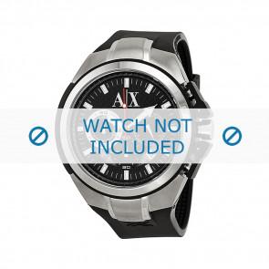 Cinturino per orologio Armani AX1042 Silicone Nero 32mm