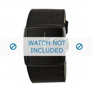 Armani cinturino orologio AX-6002 Pelle Nero 35mm