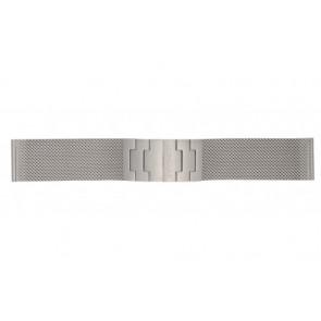 Mondaine cinturino dell'orologio BM20031 / 12622.ST.2 Metallo Argento 22mm