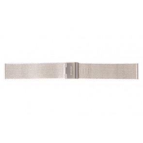 Mondaine cinturino dell'orologio A669.30305.11SBM / 30305 / BM20062 / 30008 / 30305 / 30323  Metallo Argento 16mm