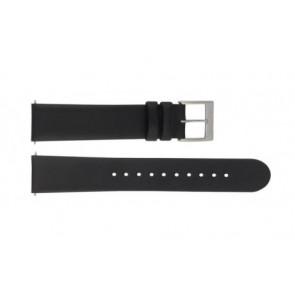 Mondaine cinturino dell'orologio BM20098 / FE16822.20Q.XL Pelle Nero 22mm