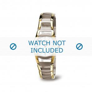 Boccia cinturino orologio 3140-02 Titanio Oro (Placcato) 22mm