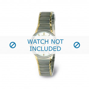 Boccia cinturino orologio 3158-02 Titanio Argento 15mm