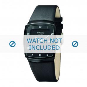 Boccia cinturino dell'orologio 3541.03 Pelle Nero