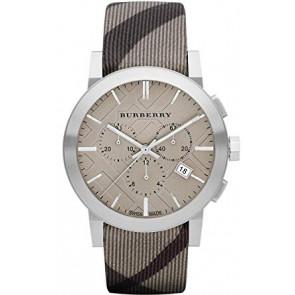Cinturino per orologio Burberry BU9358 / 7177852 Pelle Multicolore 20mm