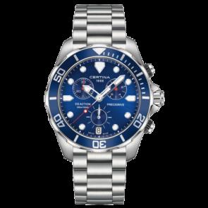 Certina cinturino dell'orologio C032.417.11.041.00 / C605019661 Metallo Acciaio inossidabile
